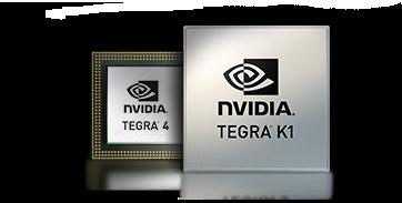 Gaming, media i grafika kolejnej generacji - z mobilnymi procesorami Tegra.