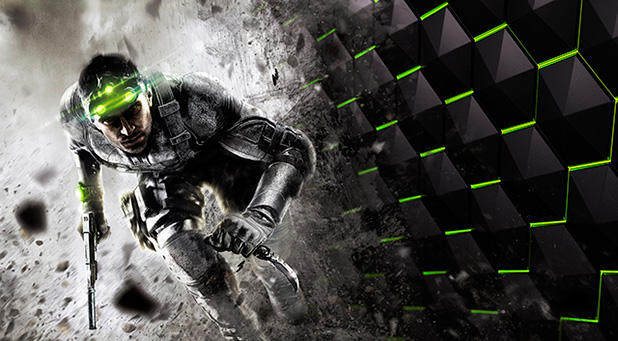 Tytuł Tom Clancy's Splinter Cell Blacklist i  technologia NVIDIA