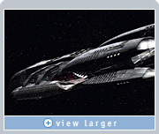 Zoic used NVIDIA Quadro FX graphics to create spaceships with detailed surfaces and realistic propulsion effects in Battlestar Galactica.